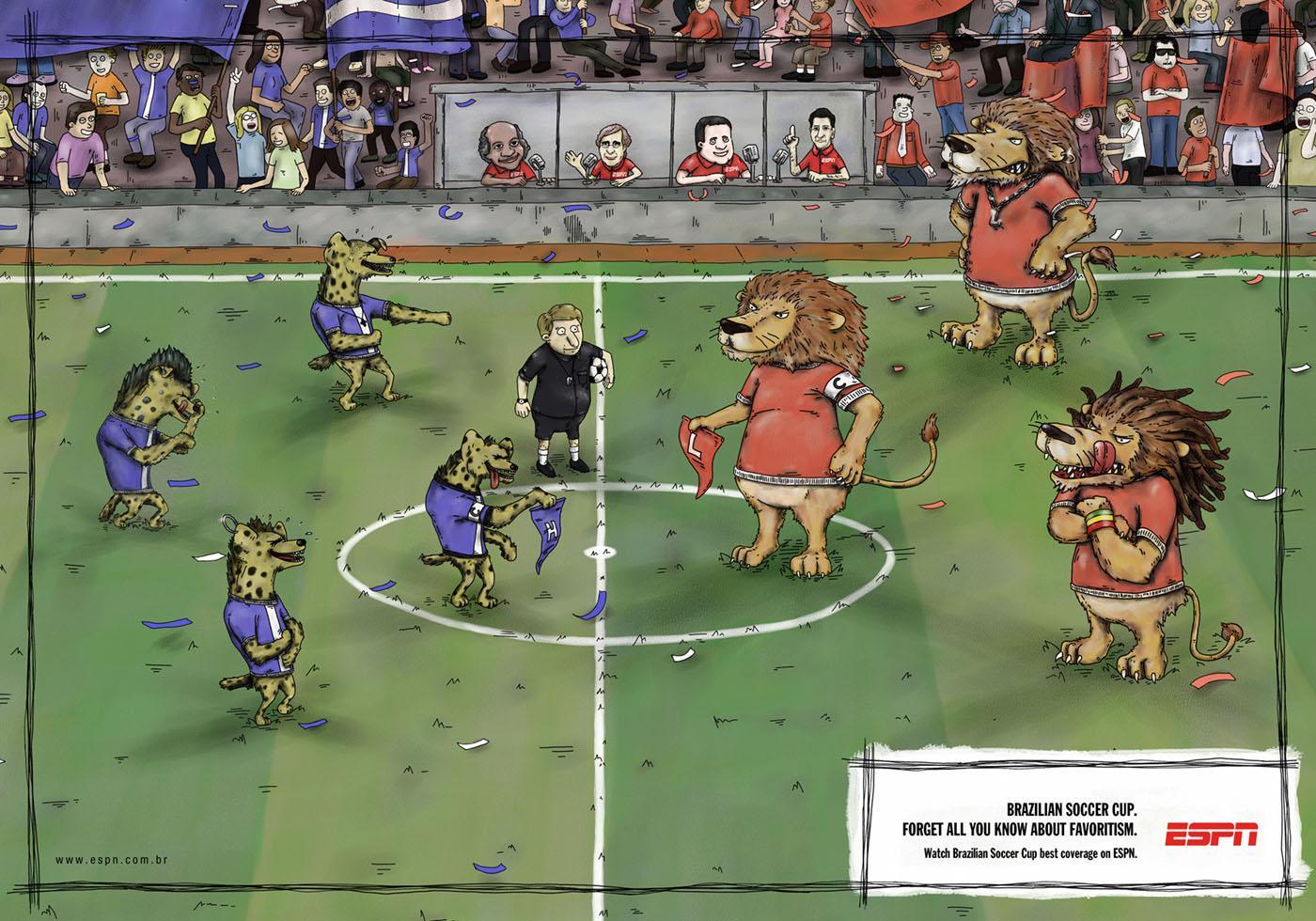 ESPN Print Ad -  Animals, 5