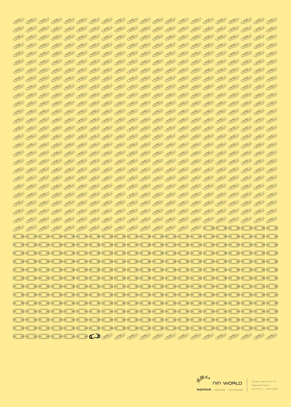 Nin World Print Ad -  Zapping