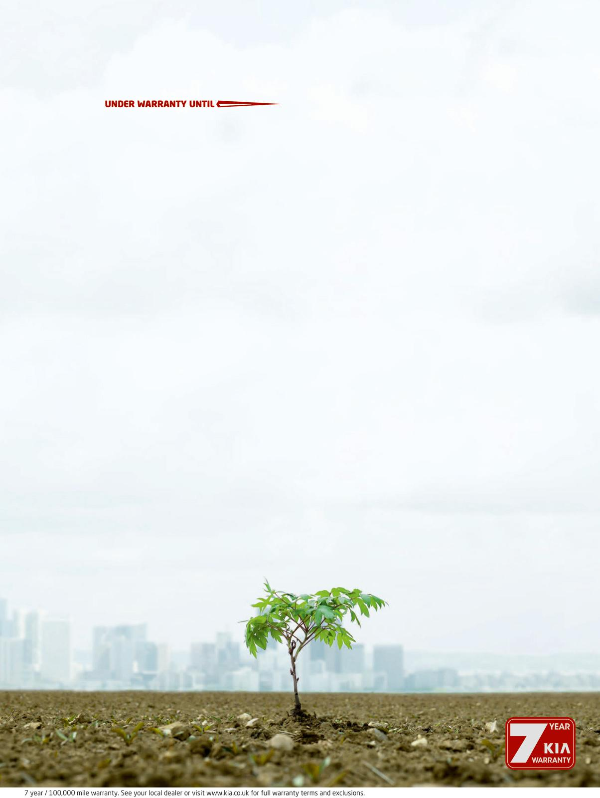 KIA Print Ad -  Tree
