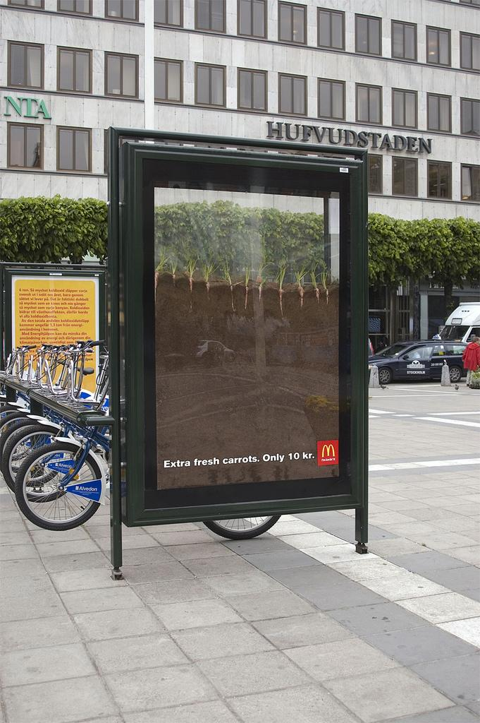 McDonald's Ambient Ad -  Carrots