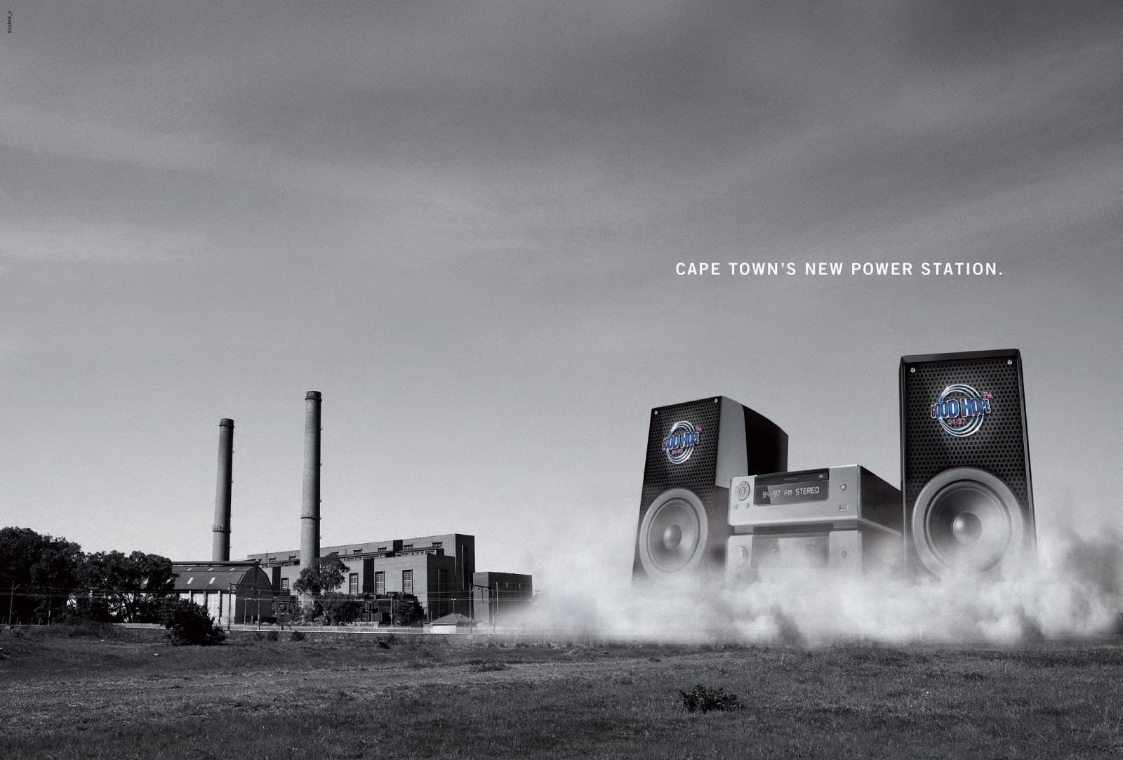 Good Hope FM Print Ad -  Cooling Towers