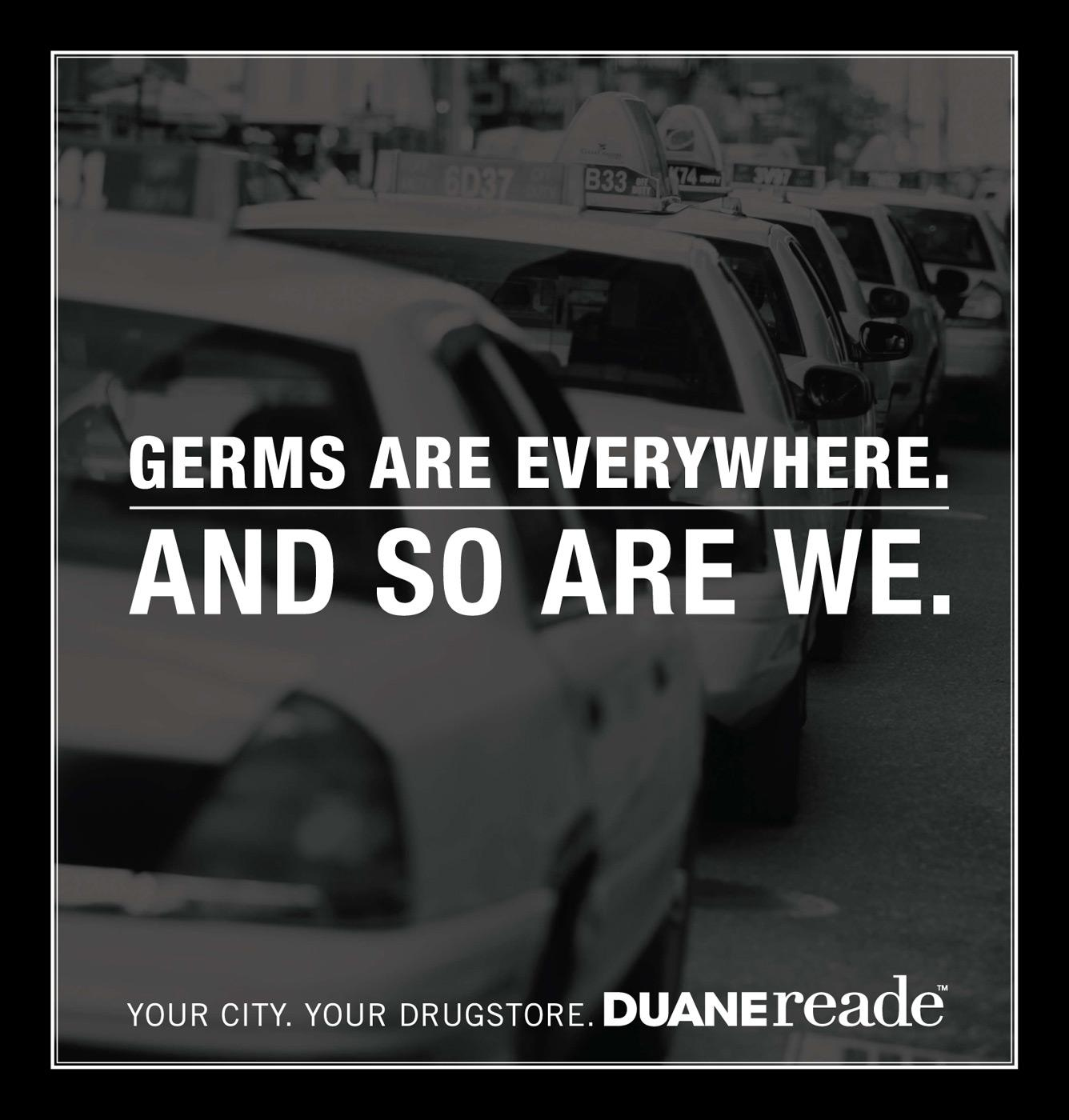 Duane Reade Print Ad -  Germs