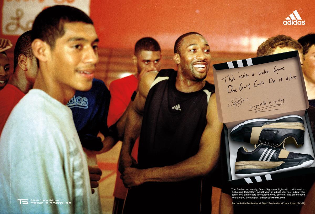 Basketball is a Brotherhood, Gilbert Arenas