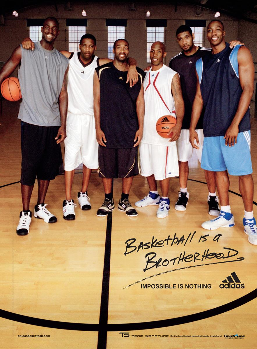 Basketball is a Brotherhood, Team