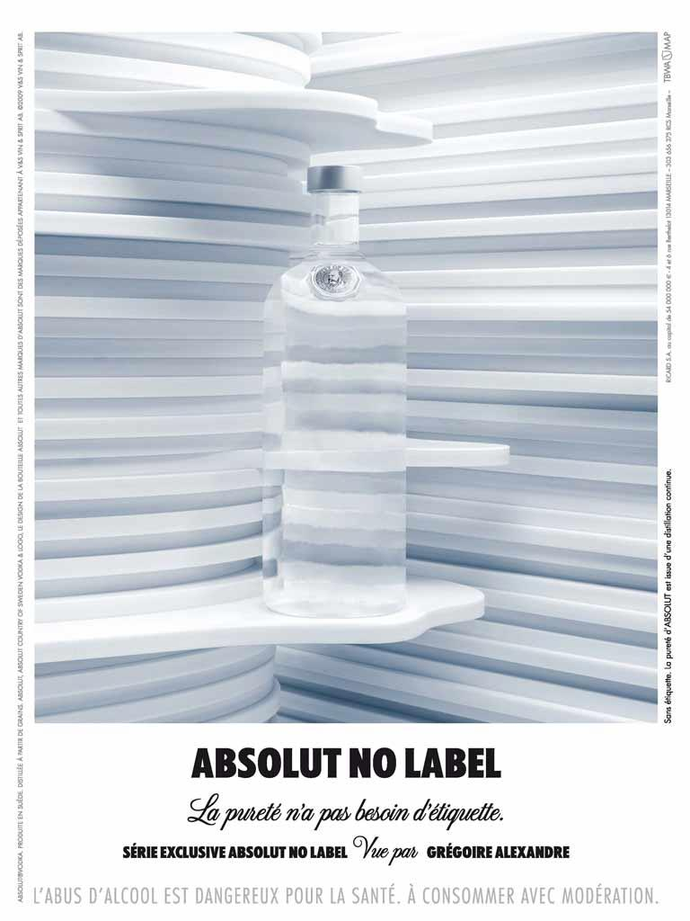 Absolut Print Ad -  by Gregoire Alexandre