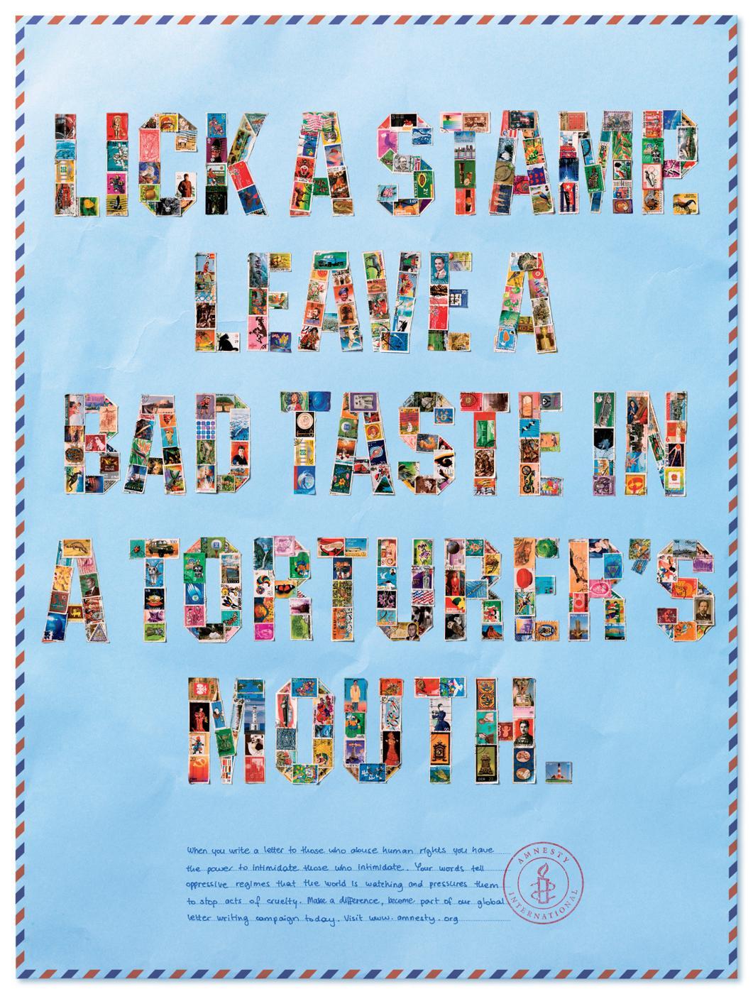Amnesty International Print Ad -  Mouth