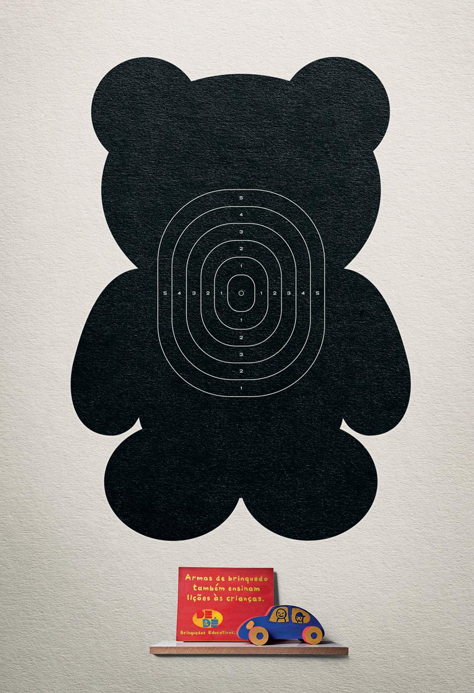 DE&DÉ Print Ad -  Teddy