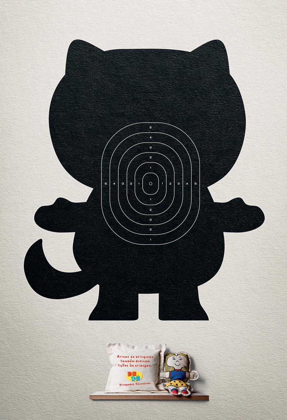 DE&DÉ Print Ad -  Kitty
