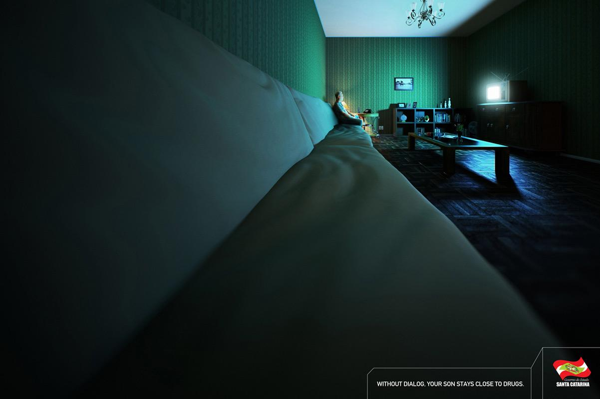 Government of the State of Santa Catarina Print Ad -  Sofa