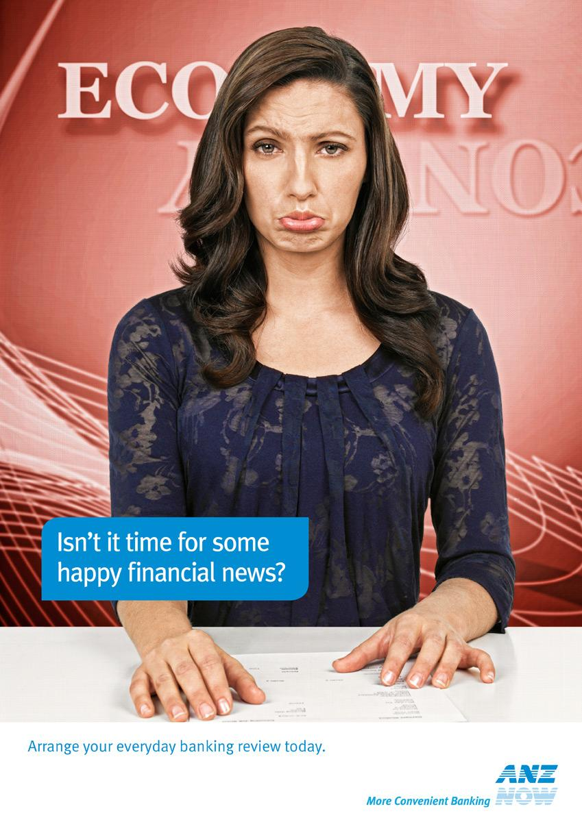 ANZ Print Ad -  Happy, 2
