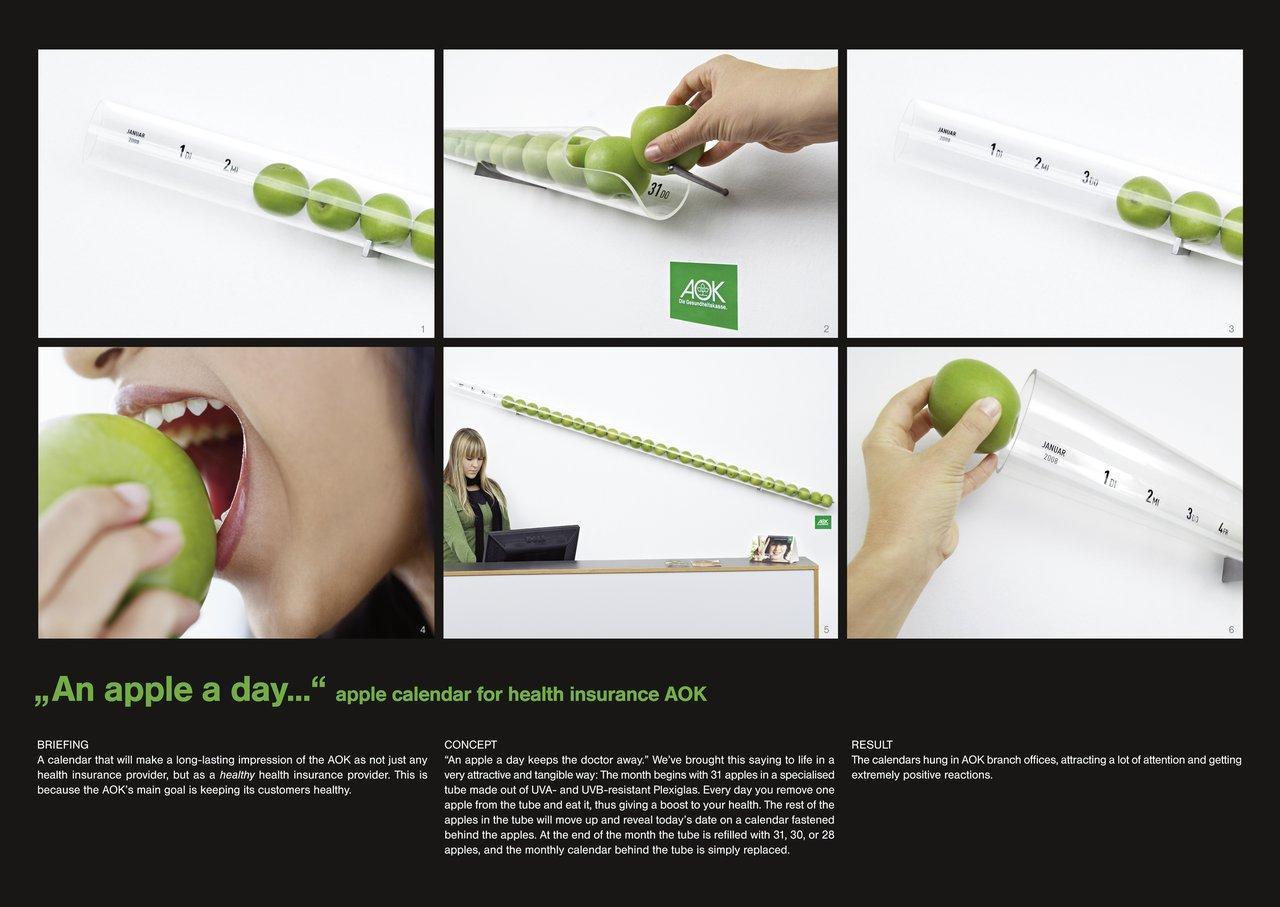 AOK Ambient Ad -  Apple Calendar