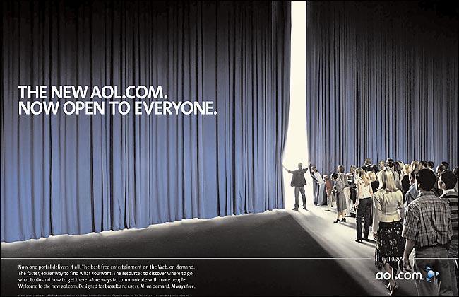 AOL curtains