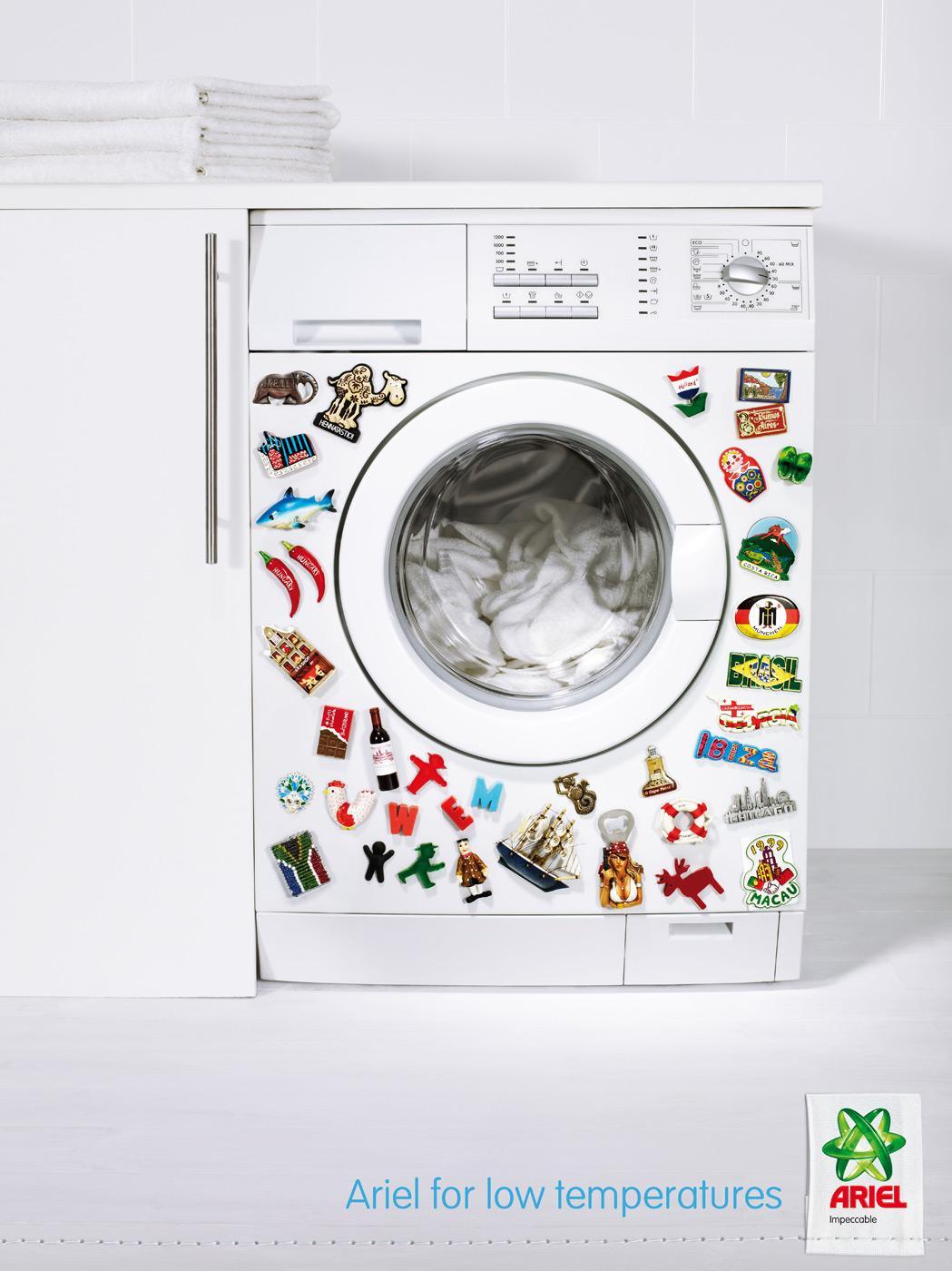 Ariel Print Ad -  Magnets