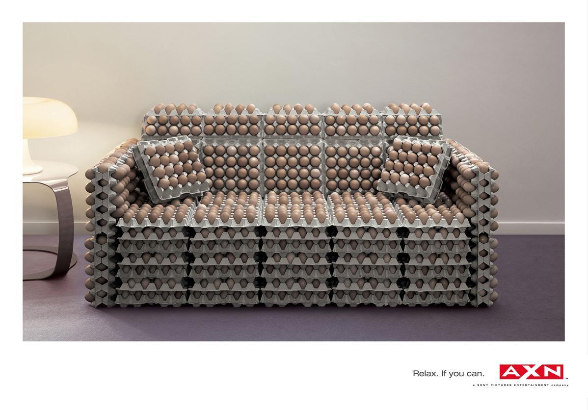 Eggs sofa