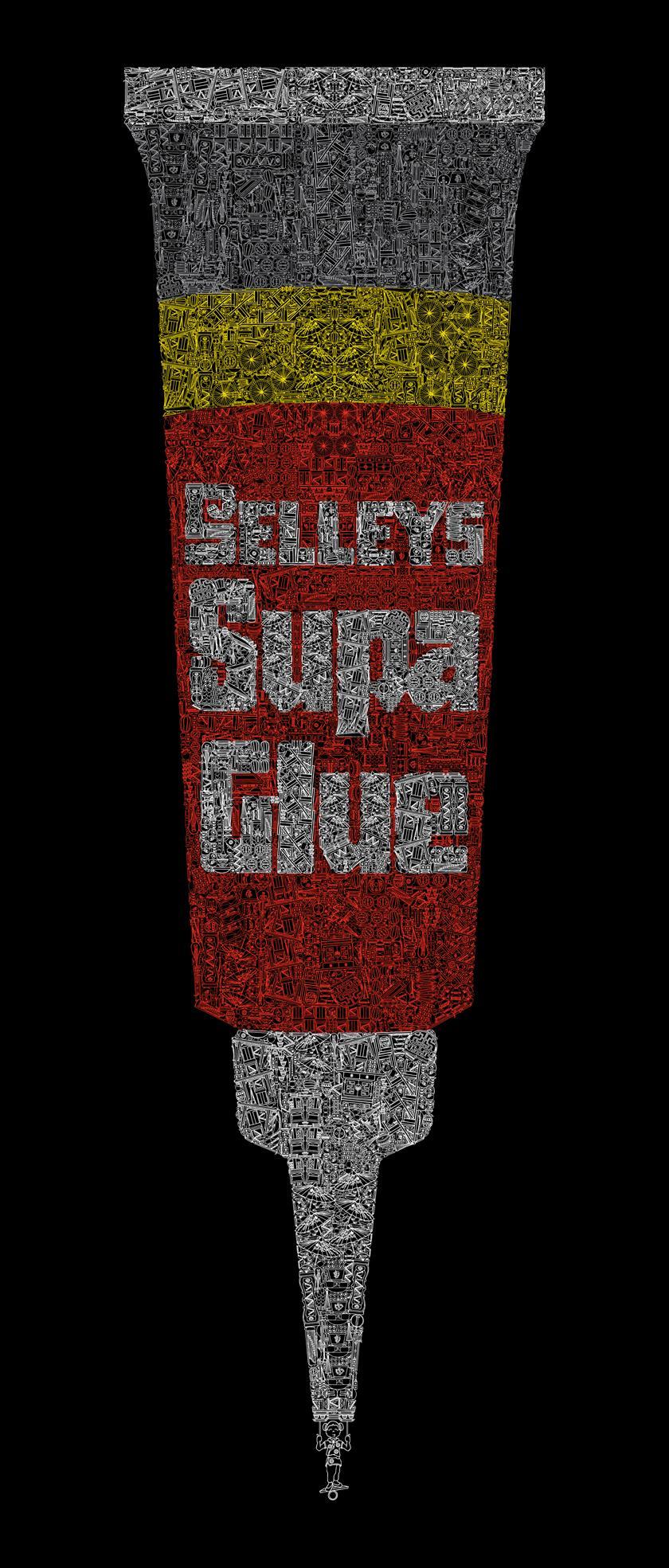 Selleys Print Ad -  Acrobat