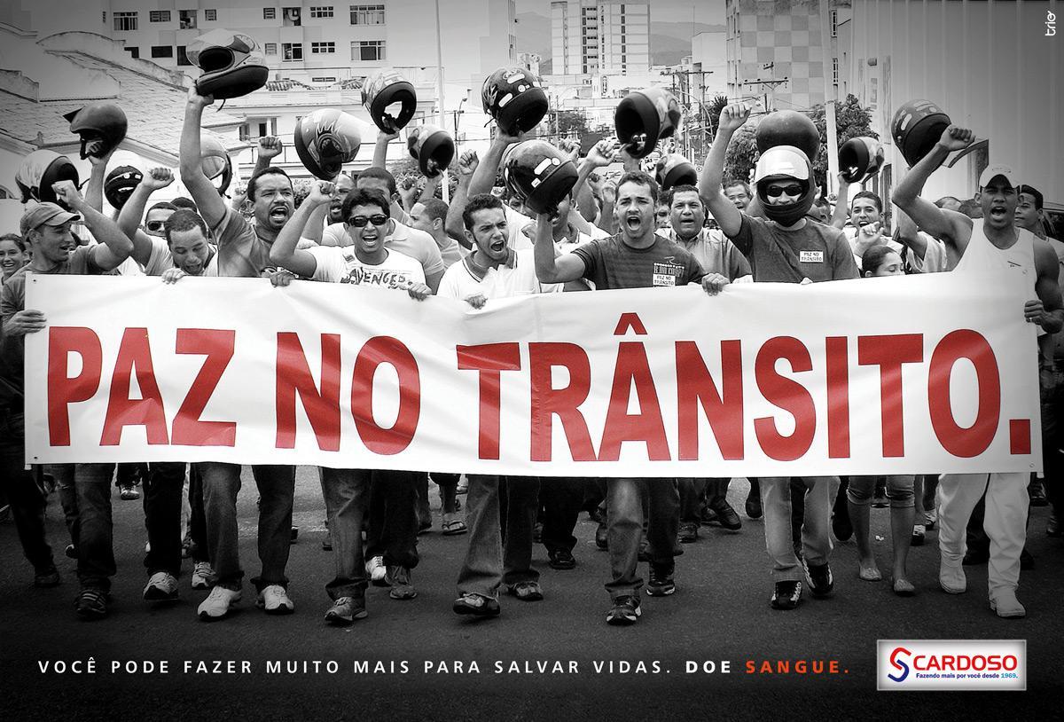 Cardoso Print Ad -  Protests, 2