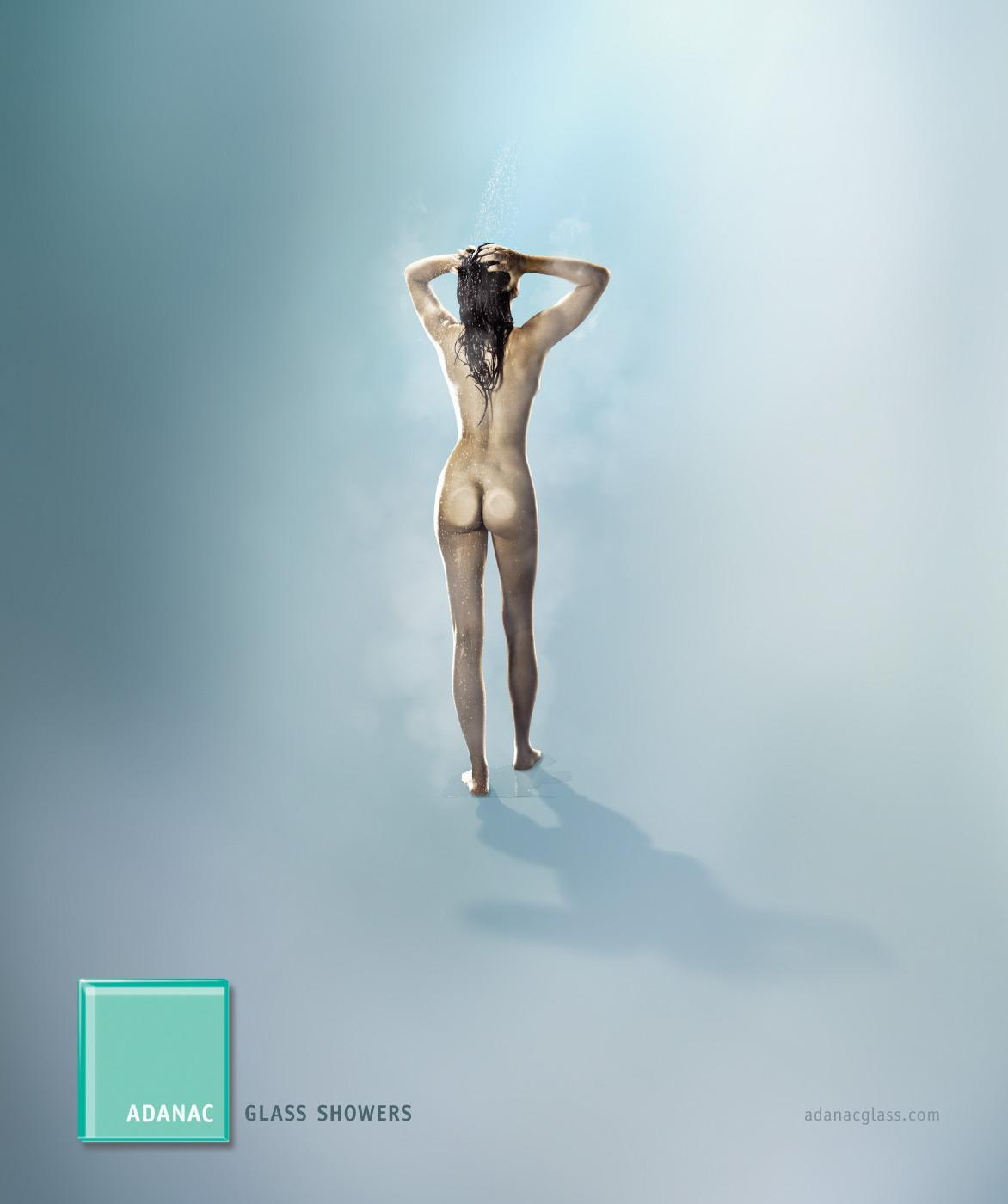 Adanac Print Ad -  Invisible showers
