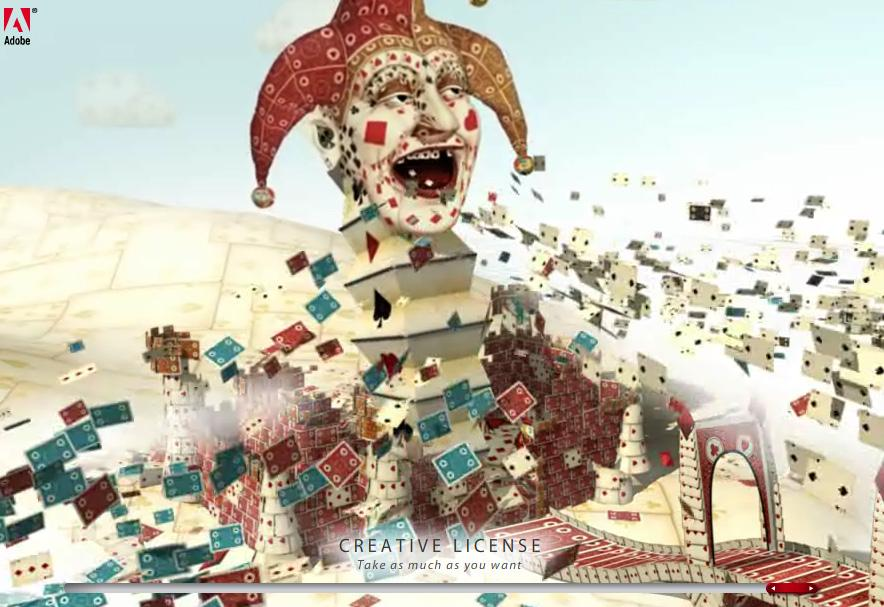 Adobe Digital Ad -  Clown