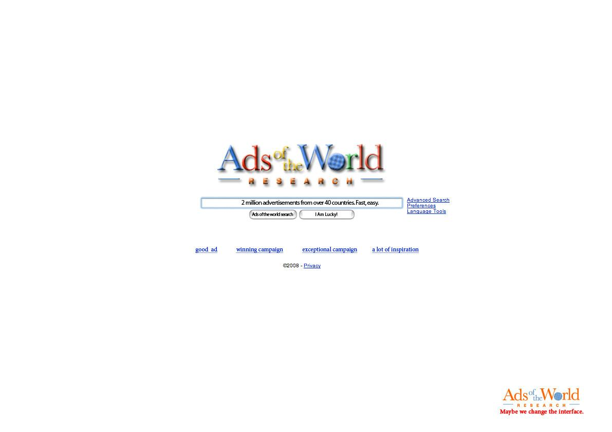 Ads of the World Print Ad -  Search