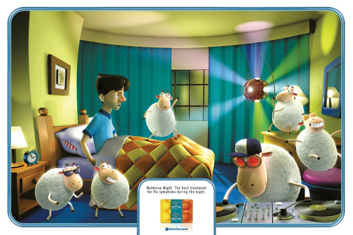 Naldecon Print Ad -  Sheep