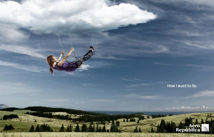 Aero República Print Ad -  Swing