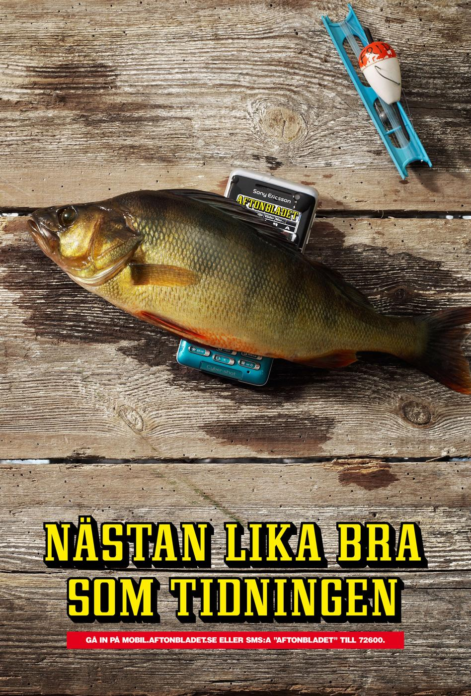 Aftonbladet Outdoor Ad -  Fish