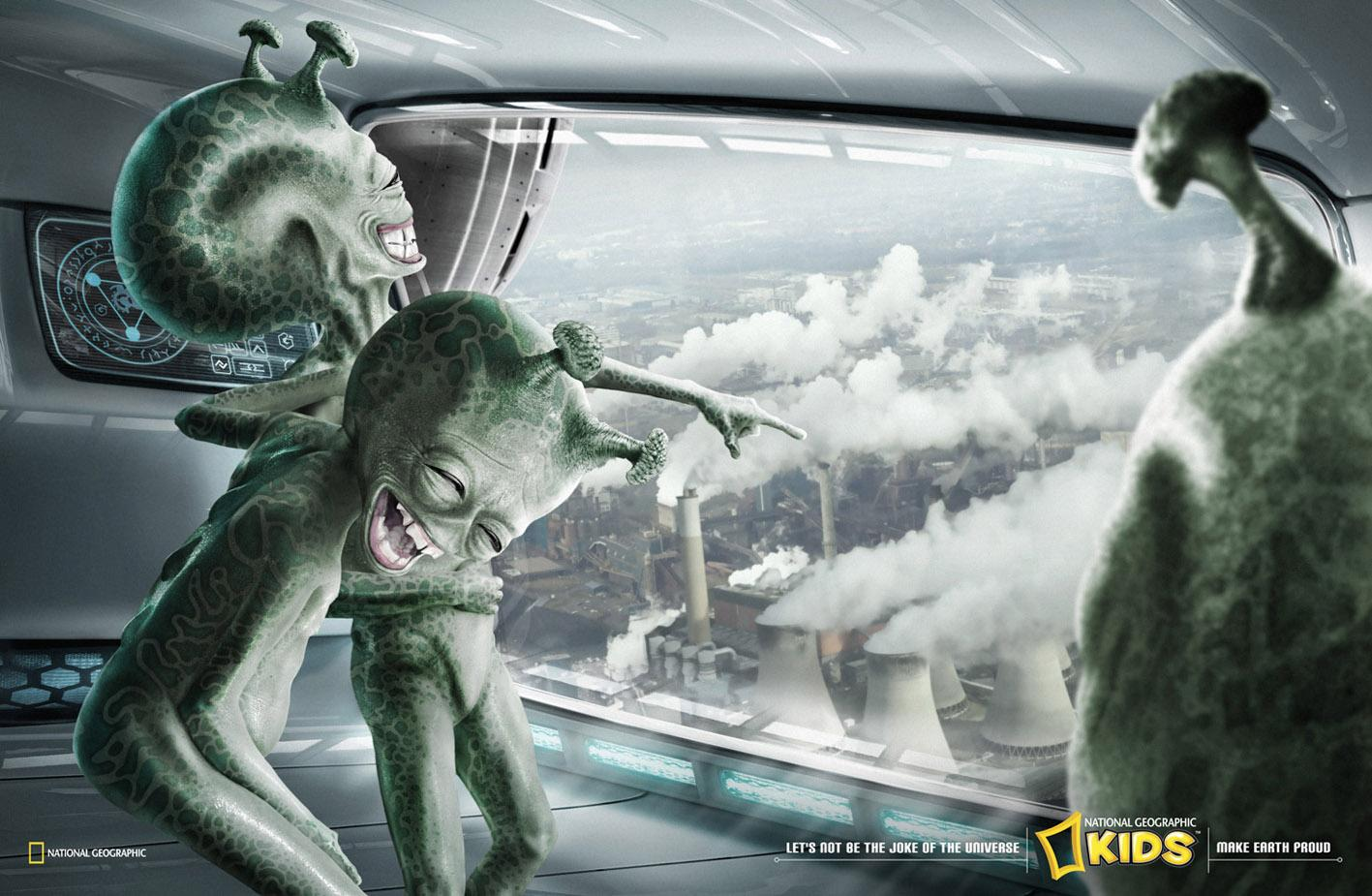 National Geographic Print Ad -  Air Pollution