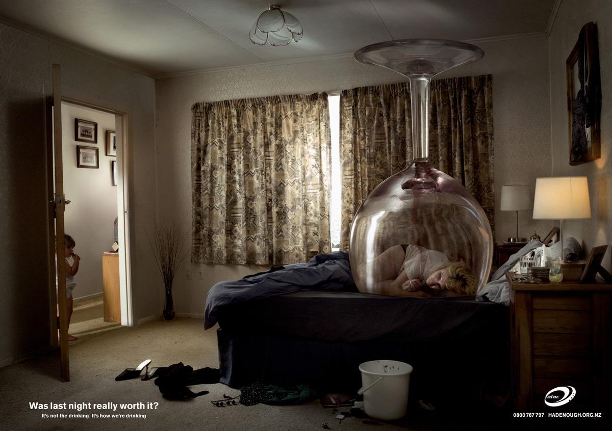 Alac Print Ad -  Bedroom