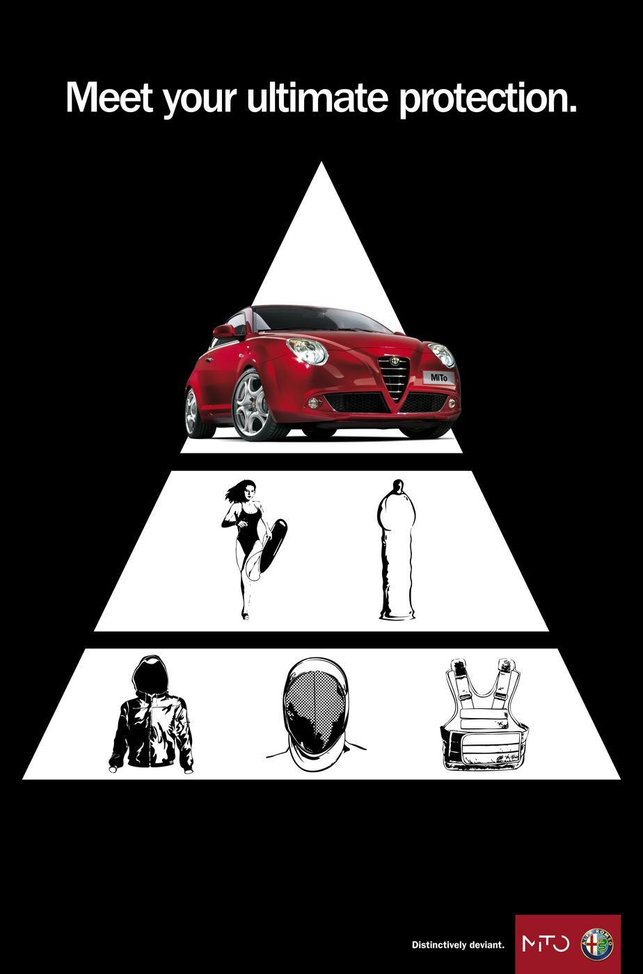 Alfa Romeo Print Ad -  Deviant protection