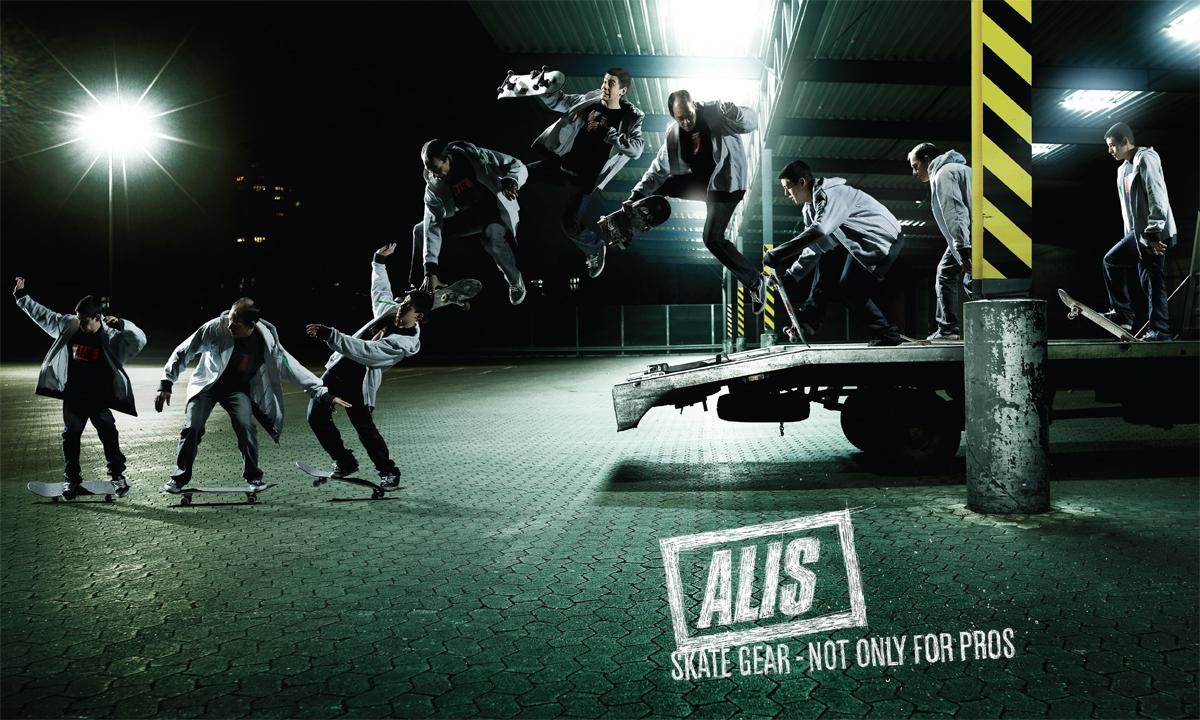 Alis Print Ad -  Not only for Pros