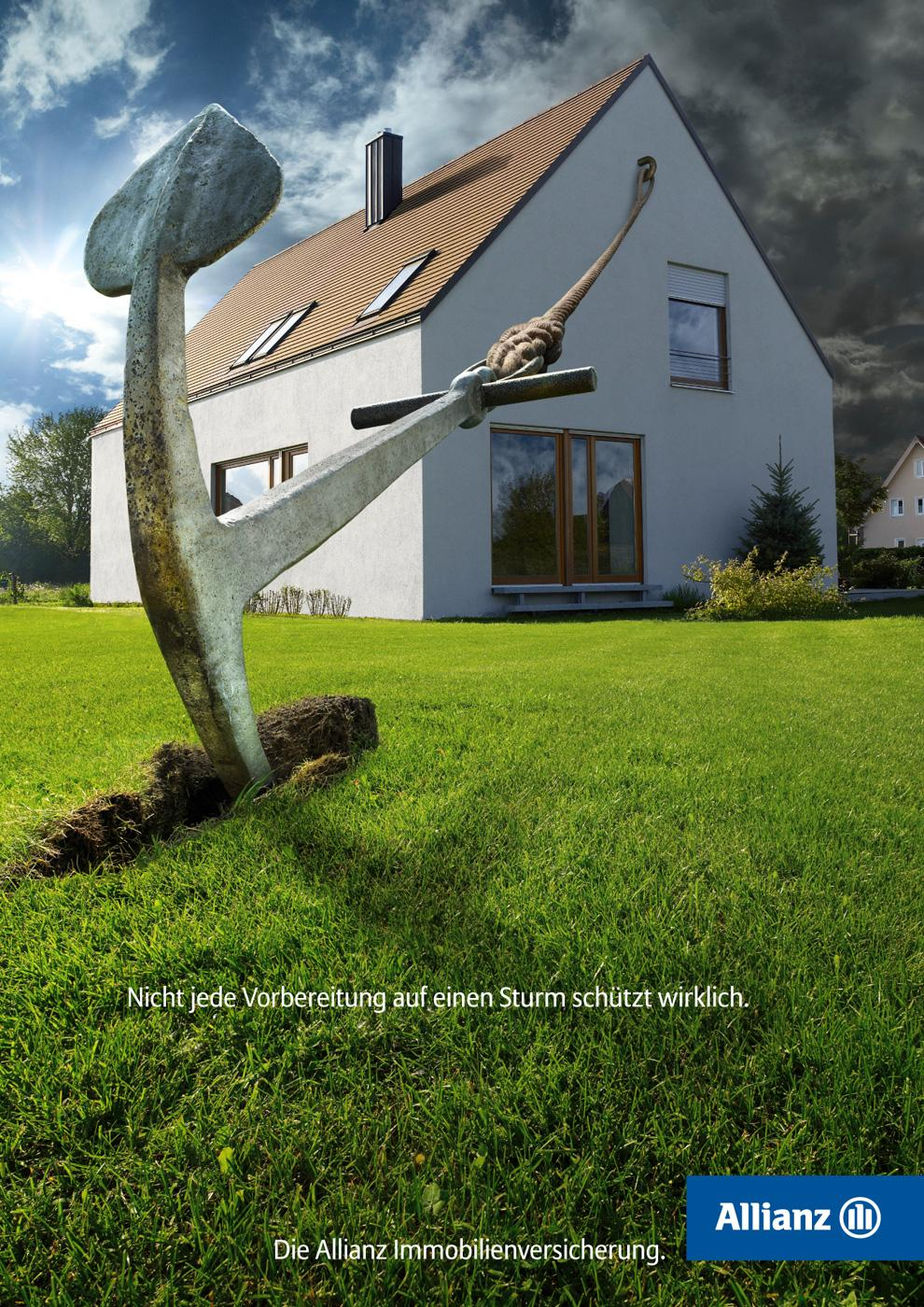 Allianz Print Advert By Atletico Anchor Ads Of The World