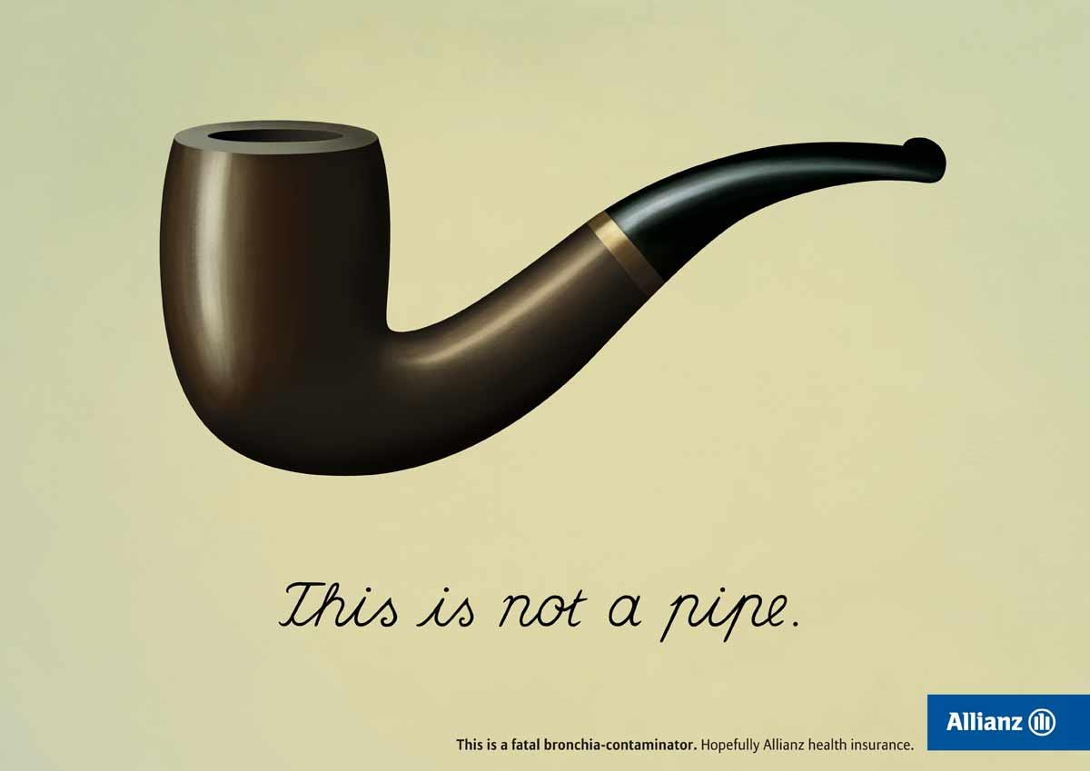Magritte - pipe