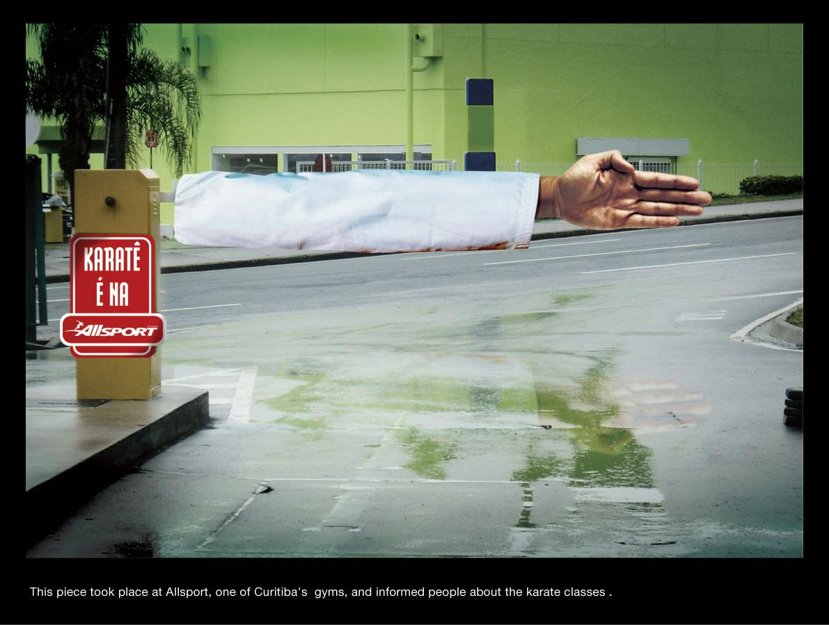 Allsport Ambient Ad -  Karate