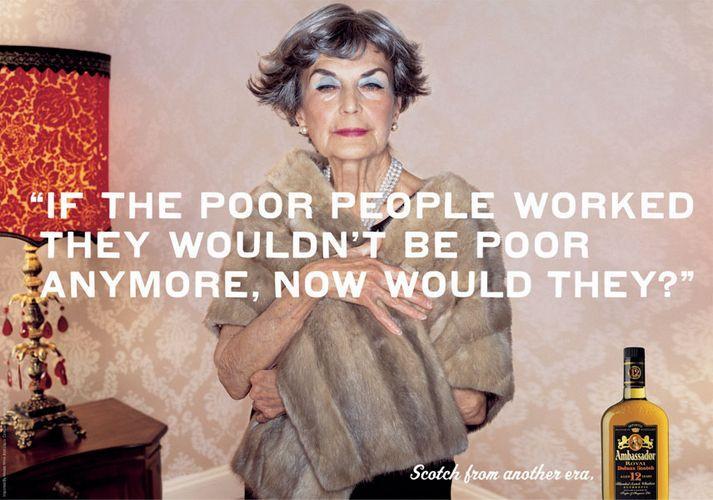 Poor working people