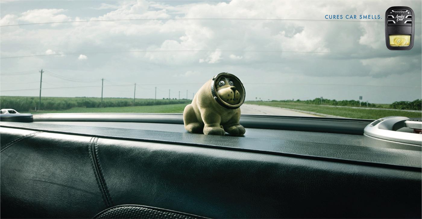 Ambi Pur Print Ad -  Bobbing Dog