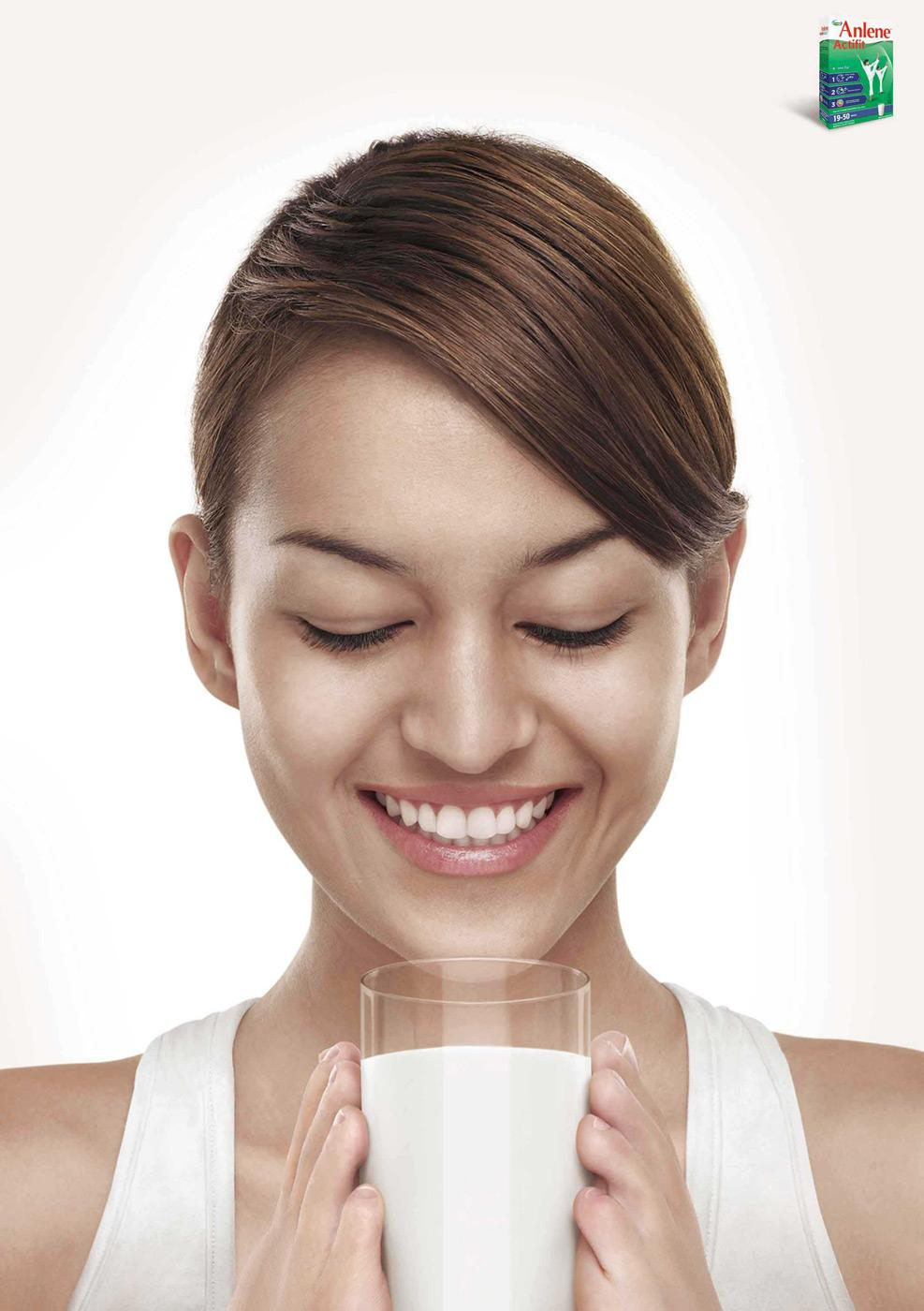 Anlene Print Ad -  Drink