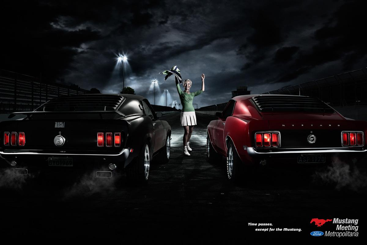 Mustang Meeting Print Ad -  Go