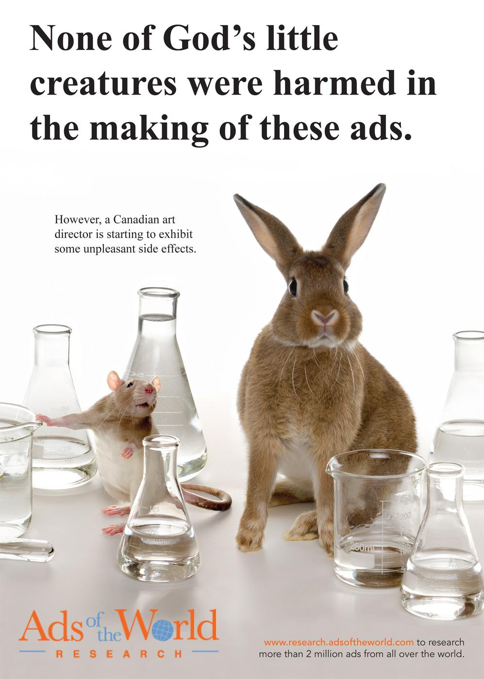 Ads of the World Print Ad -  Rabbit