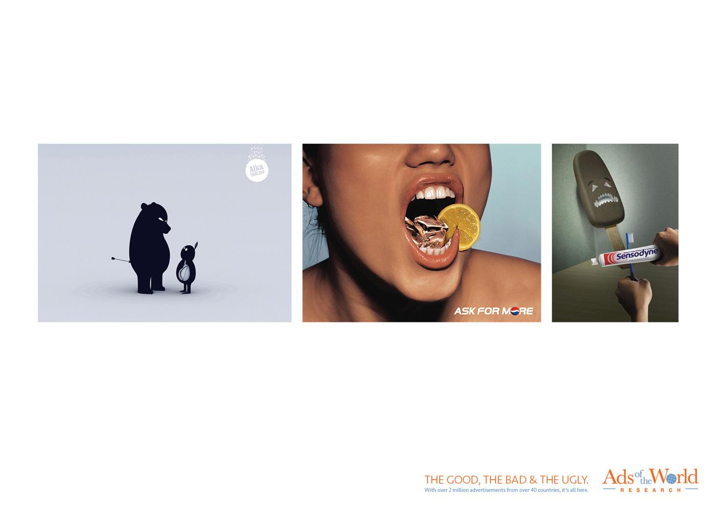 Ads of the World Print Ad -  The good, the bad & the ugly, 2
