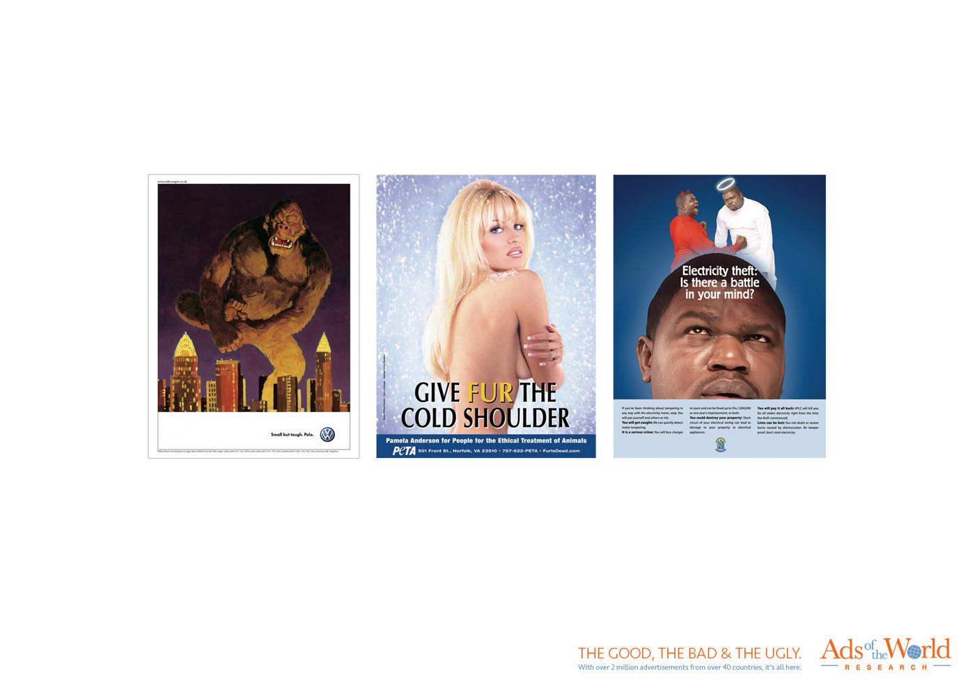 Ads of the World Print Ad -  The good, the bad & the ugly, 3