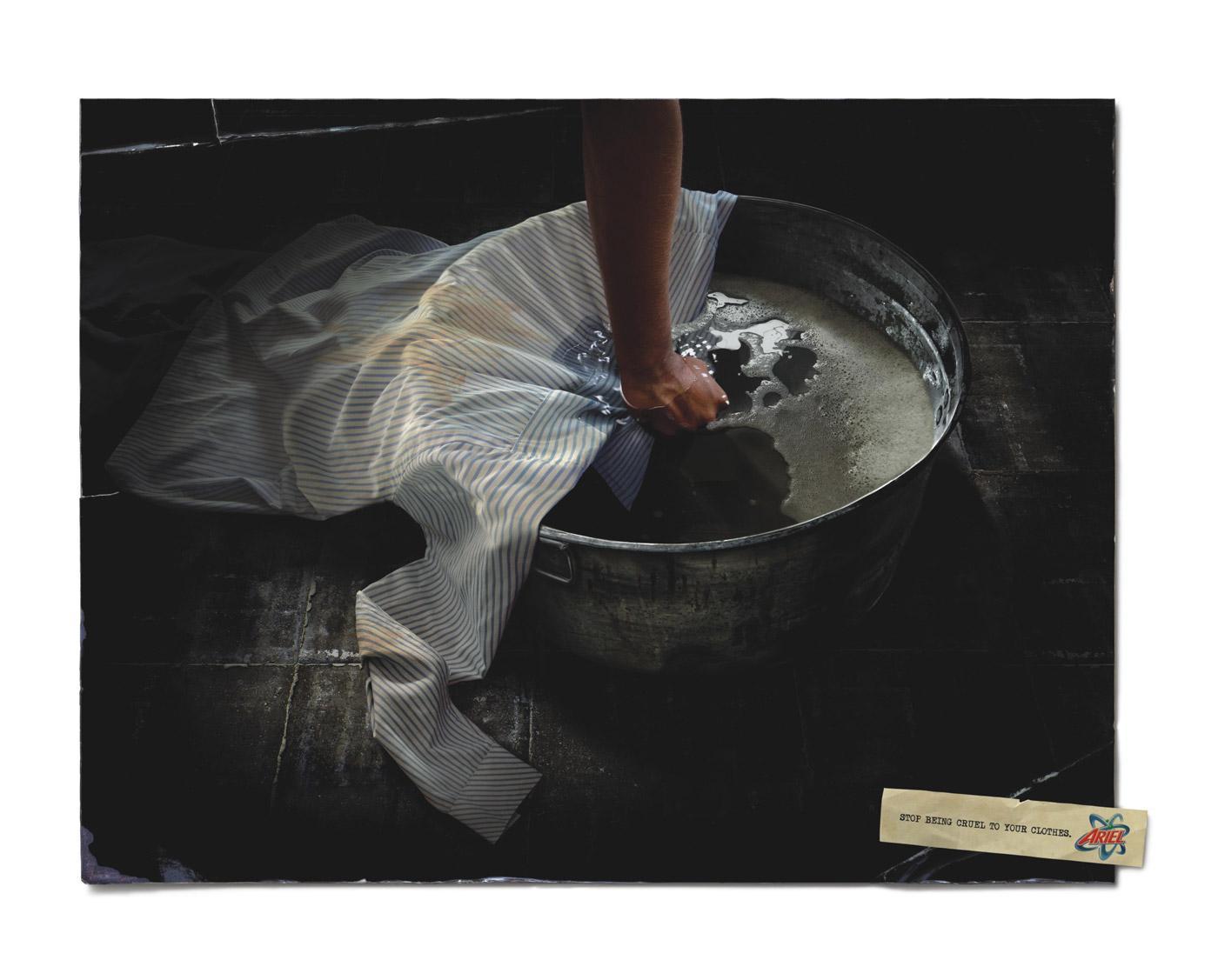 Ariel Print Ad -  Torture, 2