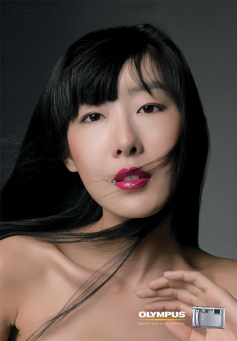 Olympus Print Ad -  Asian