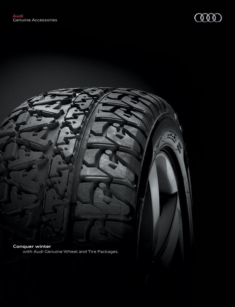 Audi Print Ad -  Snowmobile