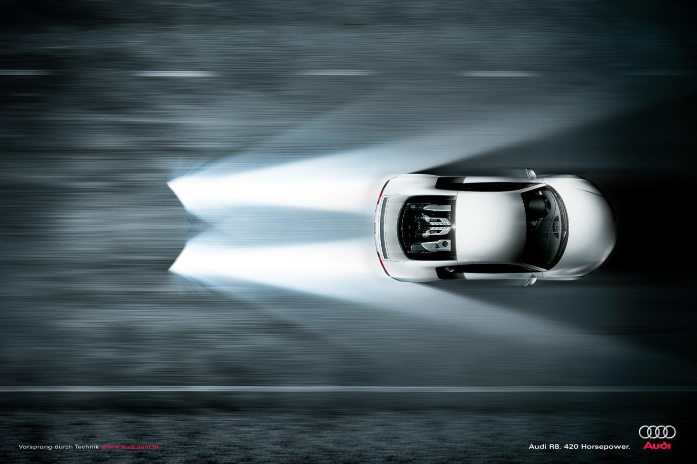 Audi Print Ad -  Overtake