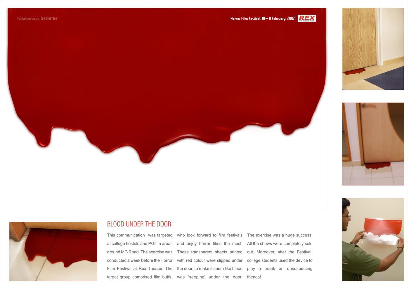Blood Under The Door