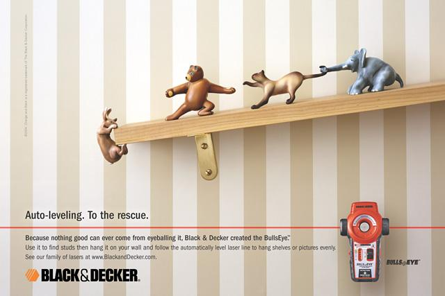 Black&Decker Print Ad - Black&Decker bullseye