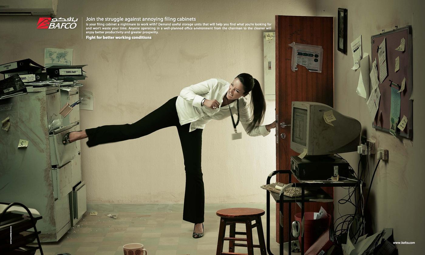 BAFCO Print Ad -  Cabinet