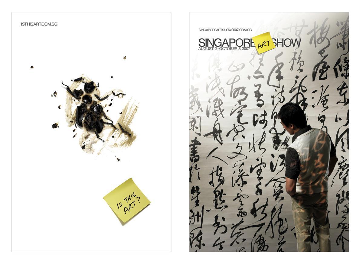 Singapore Art Show Outdoor Ad -  Bug