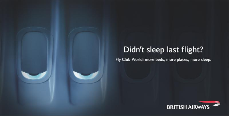 British Airways sleepless