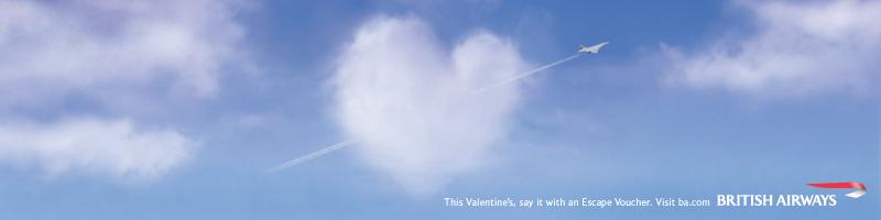 British Airways Valentine's day